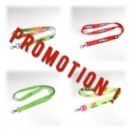 Lanyard personnalisé promotion