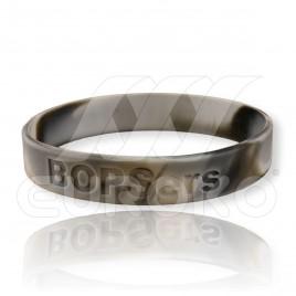 Bracelet silicone en creux