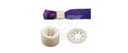 Bague plastique (blanche) - +0,010 € (+0,012 € TTC)